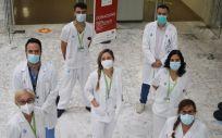 Equipo Ictus Retina (Foto. Hospital Germans Trias)
