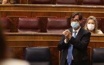 El Ministro de Sanidad, Salvador Illa (Foto.   EUROPA PRESS R.Rubio.POOL   Europa Press)