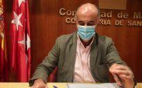 El viceconsejero de Salud Pública y Plan COVID 19 de la Comunidad de Madrid, Antonio Zapatero (Foto.UROPA PRESSE. Parra. POOL)