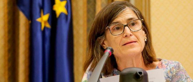 Pilar Aparicio, directora general de Salud Pública Calidad e Innovación del Ministerio de Sanidad (Foto: Congreso)