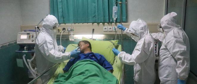 Paciente con covid 19 hospitalizado. (Foto. Unsplash)