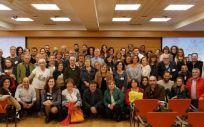 Grupo de pacientes de la Asociación Española de Afectados por Acromegalia. (Foto: AEAA)