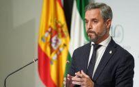 Juan Bravo, consejero de Hacienda de la Junta de Andalucía (Foto: @AndaluciaJunta)