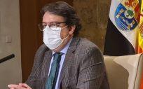 El consejero de Sanidad, José María Vergeles (Foto. EP  Junta de Extremadura)