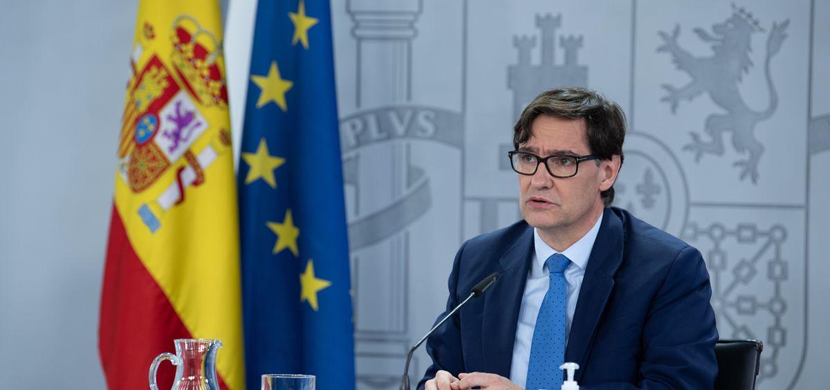 El ministro de Sanidad, Salvador Illa (Foto. Pool Moncloa Borja Puig de la Bellacasa)