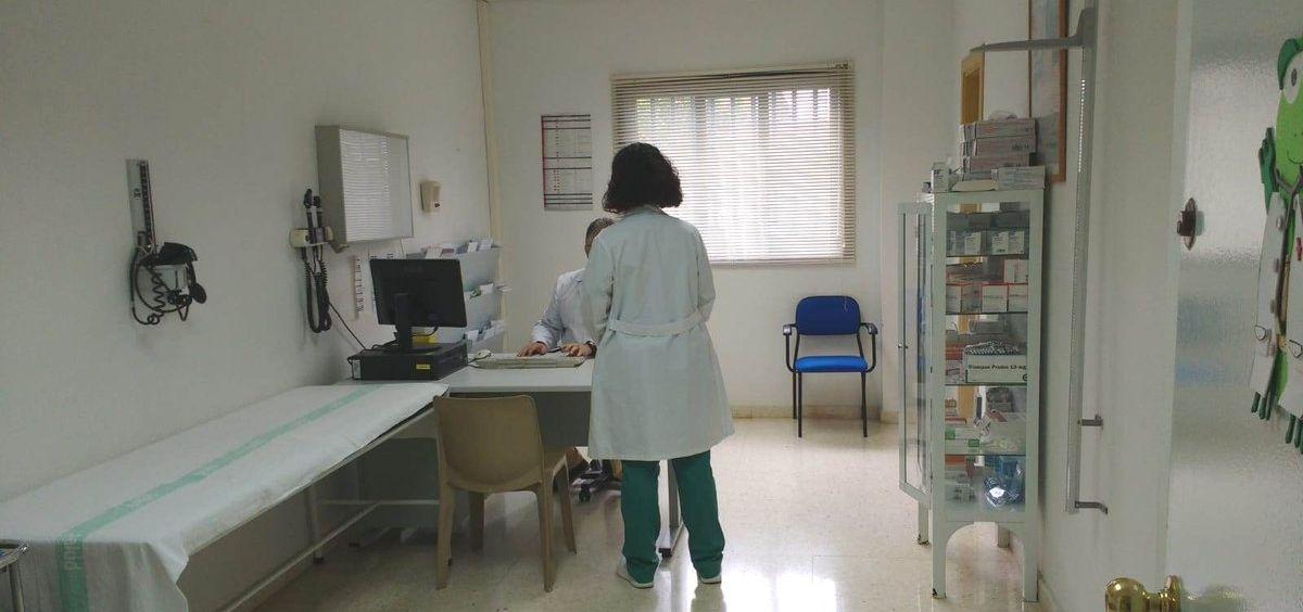 Consulta médica de un centro penitenciario. (Foto. IIPP)
