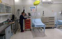 Consulta médica de una prisión centro penitenciario español. (Foto. IIPP)
