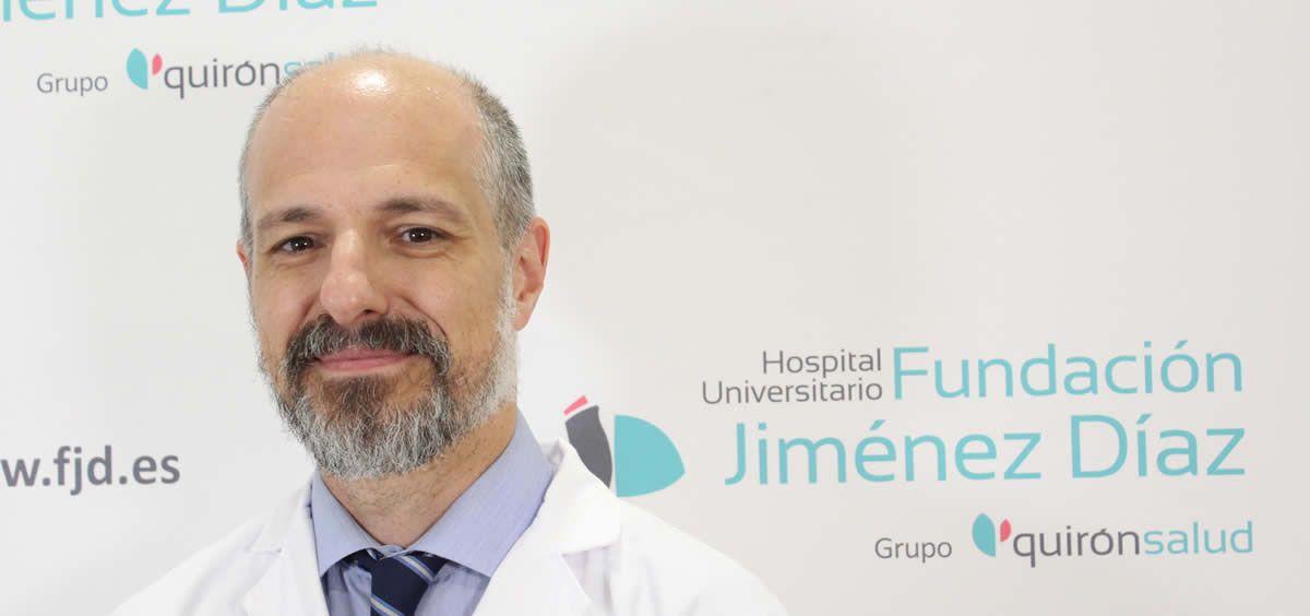 El doctor Raúl Córdoba, médico especialista del Servicio de Hematología (Foto. ConSalud)