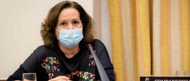 Azucena Martí, delegada del Gobierno para el Plan Nacional sobre Drogas (Foto: Congreso)