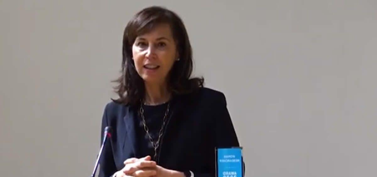 Pilar Garrido, del Ramón y Cajal, premiada por contribuir al desarrollo de la mujer en la Ciencia (Foto. Youtube)