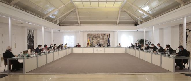 Reunión del Consejo de Ministros (Foto: Pool Moncloa / JM Cuadrado)