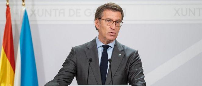 El presidente de la Xunta, Alberto Núñez Feijóo (Foto. David Cabezón, Xunta de Galicia)