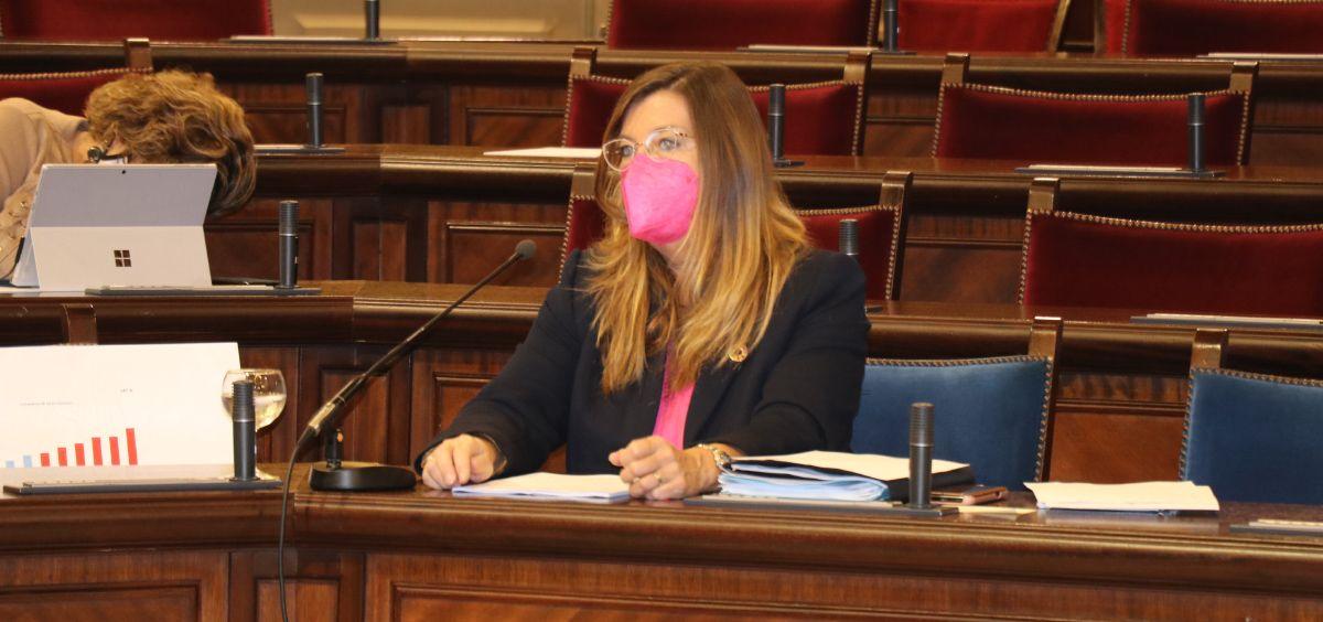 Patricia Gomez, consejera de Salud y Consumo de Islas Baleares (Foto. Conselleria de Salut i Consum)