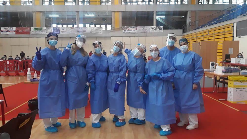 El Hospital del Sureste realiza test de antígenos masivos