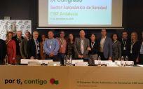 Elección de Victorino Girela presidente del sector de Sanidad de CSIF Andalucía (Foto. CSIF A)