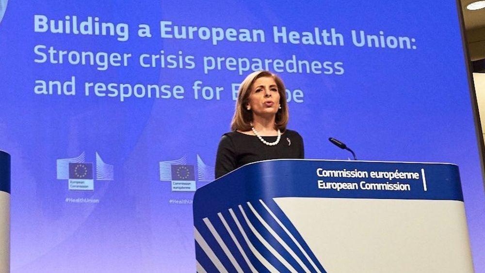 Stella Kyriakides, comisaria de Salud y Seguridad Alimentaria de la UE (Foto: @SKyriakidesEU)