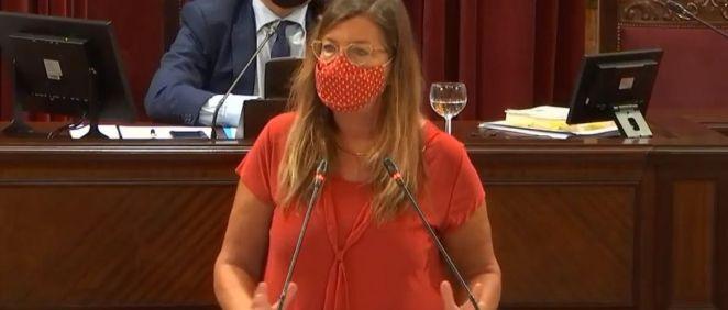 Patricia Gómez, consejera de Salud y Consumo de las Islas Baleares, ha anunciado la vacunación sin cita previa de las mujeres embarazadas (Foto. Gobierno de las Islas Baleares)
