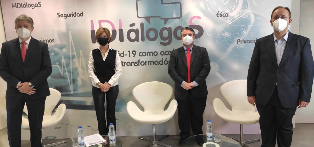 Ponentes del nuevo encuentro IDIálogoS (Foto. IDIS)
