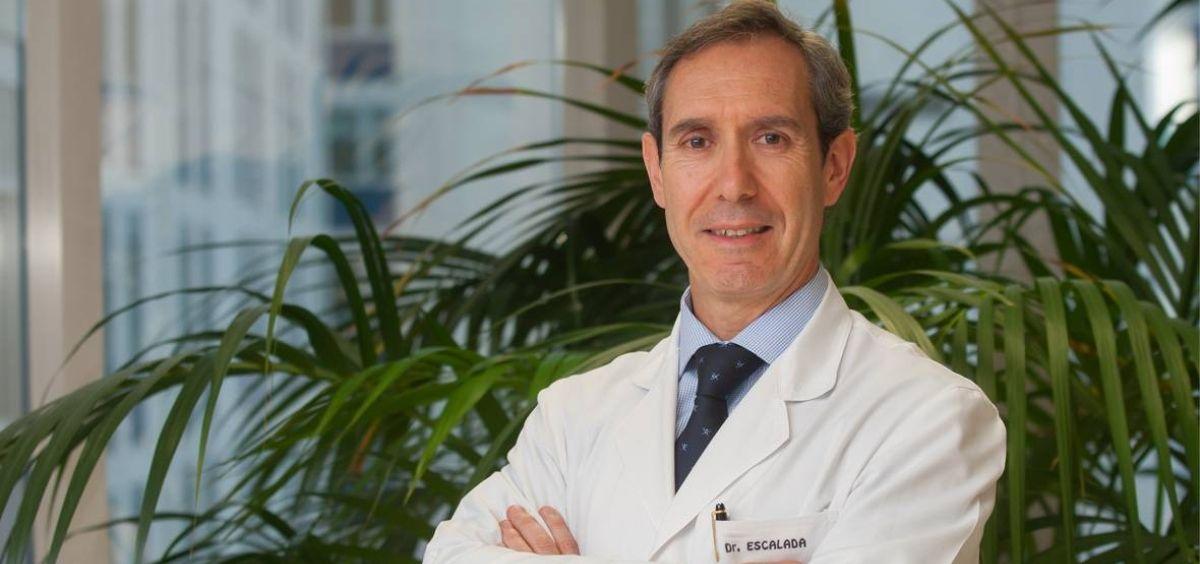 Javier Escalada, presidente de la Sociedad Española de Endocrinología y Nutrición (SEEN) (Foto. CUN)