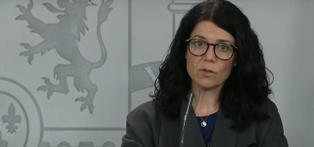 Patricia Lacruz, directora general de Cartera Común del SNS y Farmacia.