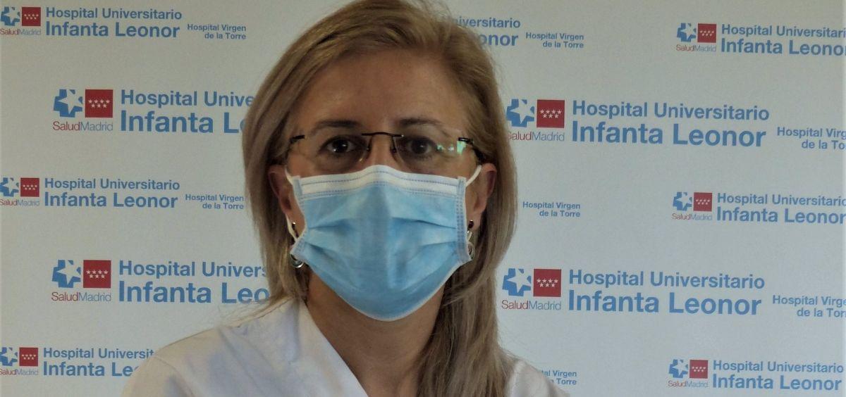 La doctora Patricia de Sequera Ortiz. (Foto. Hospital Infanta Leonor)