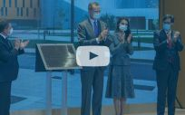 Los Reyes, en la inauguración del nuevo Hospital Universitario de Toledo (Foto. Castilla La Mancha) En el interior, vídeo de la inauguración