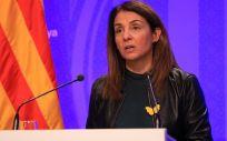 La consejera de Presidencia y portavoz del Govern, Meritxell Budó. (Foto. Generalitat)