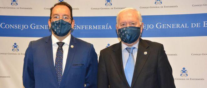 José Luis Cobos y Florentino Pérez Raya (Foto: CGE)