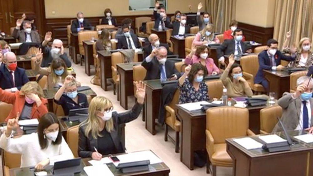 Sesión de la Comisión de Sanidad del Congreso de los Diputados (Foto: Congreso)
