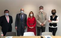 Miembros del Comité Auditor de Acreditación QH-Quality Healthcare (Foto. Fundación IDIS)