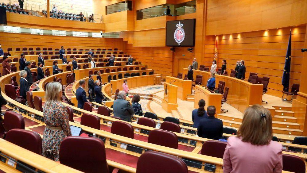 Pleno del Senado (Foto: Flickr PSOE)