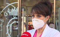 Rosalía Gozalo, vocal de Dermofarmacia y Productos Sanitarios del Colegio Oficial de Farmacéuticos de Madrid. (Foto. EUROPA PRES)