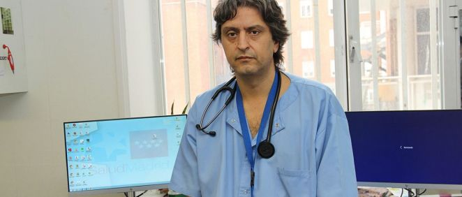 El médico especialista del Servicio de Urgencias del Hospital Clínico San Carlos, Juan González del Castillo (Foto. ConSalud)