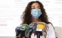 Eva Baró, gerente del Departamento de Salud de Torrevieja (Foto. ConSalud)