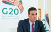 El presidente Pedro Sánchez durante la Cumbre del G20. (Foto. Pool Moncloa. Borja Puig de la Bellacasa)