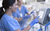Las UCRI son espacios donde se trata a pacientes con insuficiencia respiratoria grave (Foto. Philips)