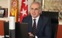 El consejero de Sanidad, Enrique Ruiz Escudero (Foto. Comunidad de Madrid)
