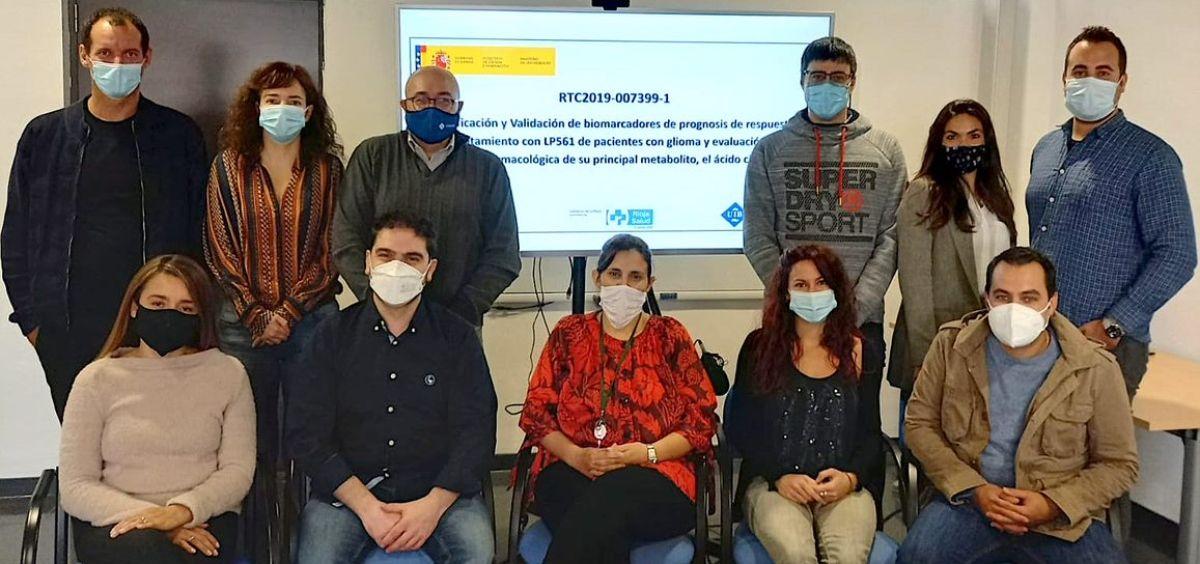 Grupo de investigación (Foto. Laminar Pharma)