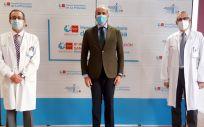 El consejero de Sanidad, Enrique Ruiz Escudero, durante el acto de inauguración (Foto. Comunidad de Madrid)