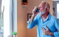 Paciente con asma (Foto. EP)