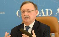 Juan Vivas, presidente del Gobierno de Ceuta (Foto: Gobierno de Ceuta - EP)
