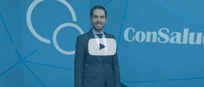 Sergio Sayas, portavoz de Sanidad en el Congreso y diputado por UPN vídeo