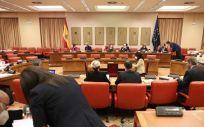 Reunión de la Comisión de Presupuestos, en el Congreso (Foto: E. Parra. Pool / Europa Press)