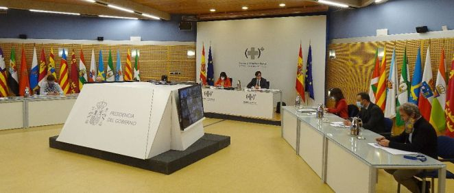 Reunión del pleno del Consejo Interterritorial (Foto: Pool Moncloa / Susana Pfingsten)