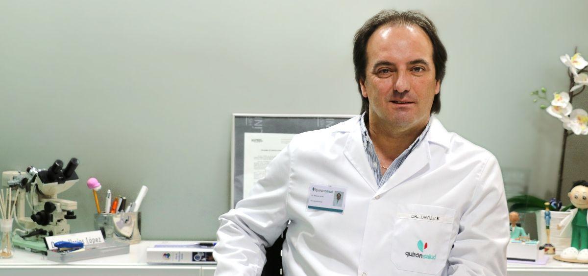 El presidente de la Asociación para el Estudio de la Biología de la Reproducción (Asebir), Antonio Urriés. (Foto. Asebir)