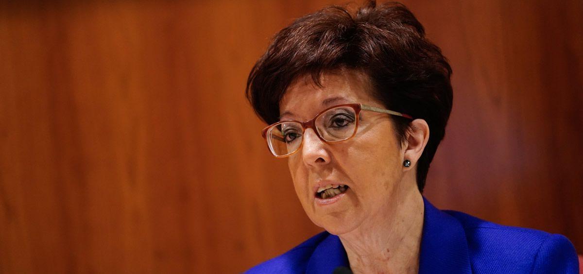 La directora general de Salud Pública, Elena Andradas (Foto. Comunidad de Madrid)