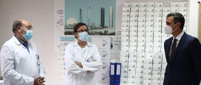 Sánchez agradece la labor investigadora de La Paz