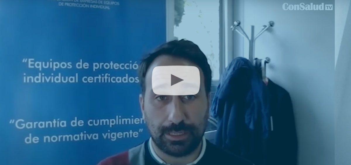 Luis Gil, secretario general de Asepal, resuelve dudas frecuentes sobre las mascarillas y otros EPIs