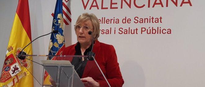La consejera de Sanidad de la Comunidad Valenciana, Ana Barceló. (Foto. GVA) (1)