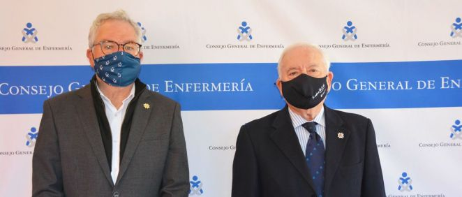 Carlos José Tirado y Florentino Pérez Raya (Foto: CGE)